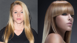 long blonde before and after