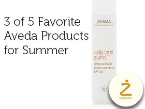 3 of 5 favorite Aveda Products