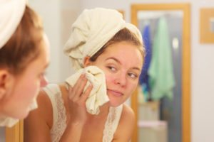 Should you remove your makeup at night?