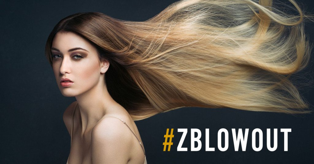 Z Blowout Bar, Blow dry bar, #ZBlowout, Hair style,